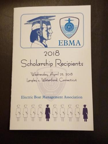 2018 EBMA Scholarship Night